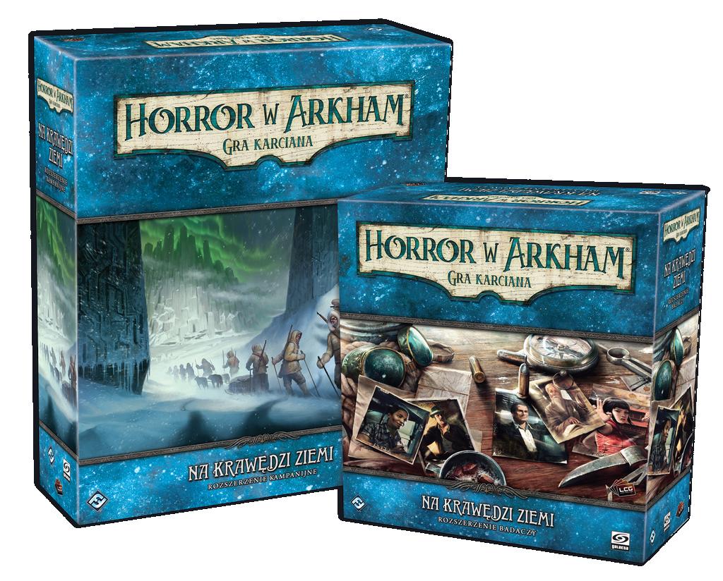 Horror w Arkham: Gra karciana - Na krawędzi ziemi