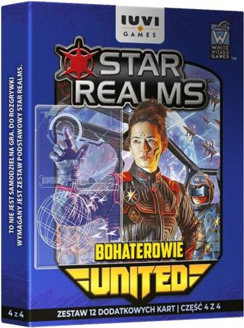 Star Realms: United - Bohaterowie